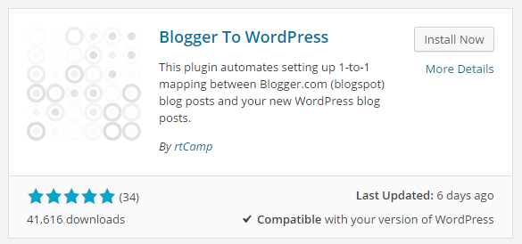 blogger to wordpress redirect