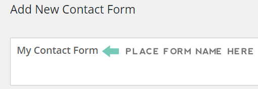 add new contact form