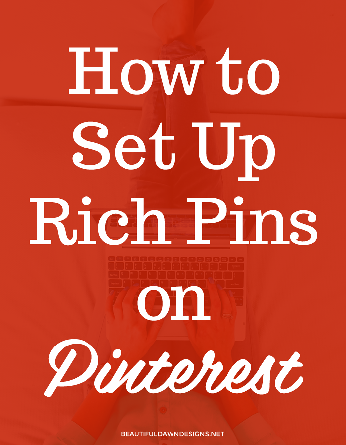 How to set up rich pins on Pinterest