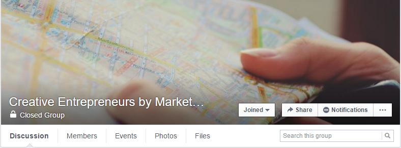 creative entrepreneurs Facebook group