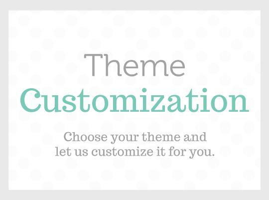 theme customization package