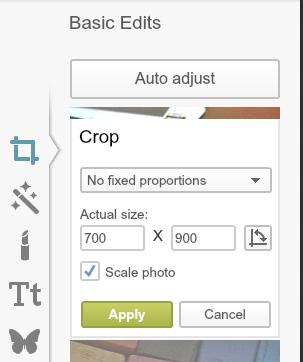 go to crop