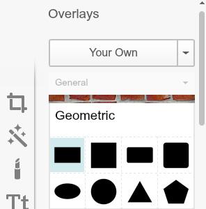 choose rectangle