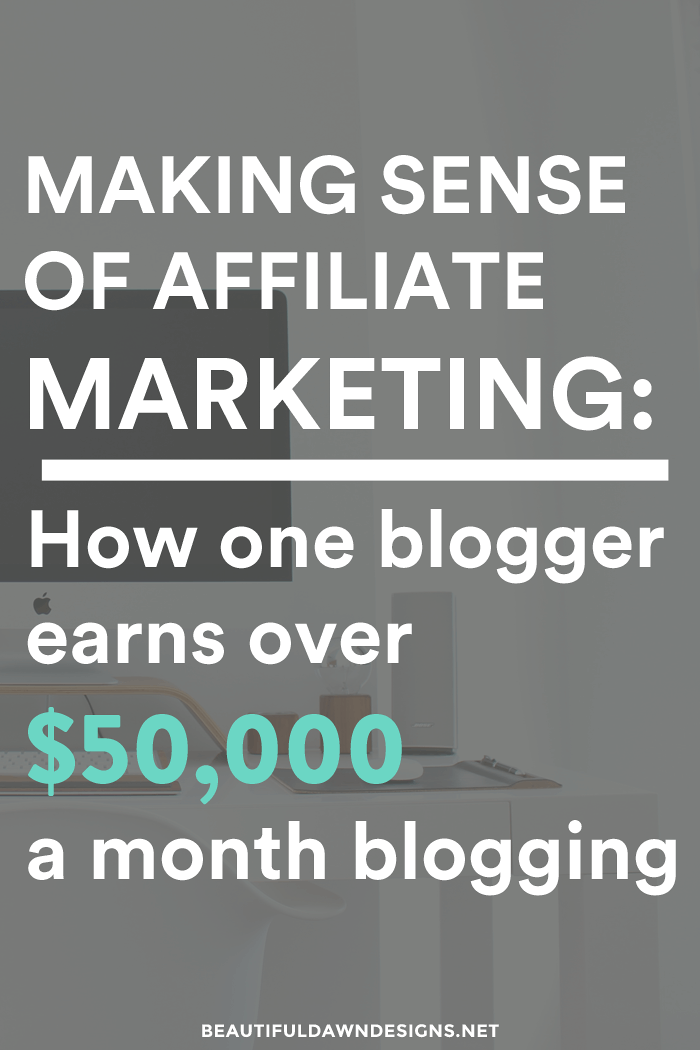Making sense of affiliate marketing how one blogger earns over making sense of affiliate marketing fandeluxe Choice Image