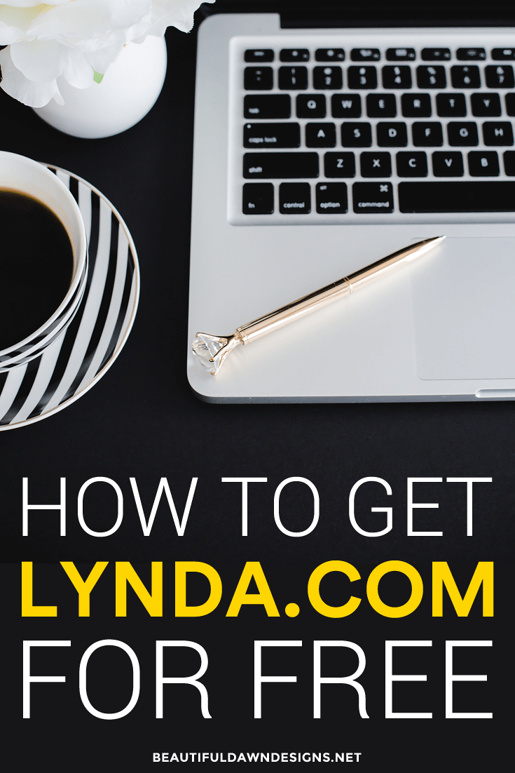 How to get Lynda.com free. Free business courses. Free blogging courses. Blogging Tips.