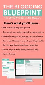 The Blogging Blueprint Online Course