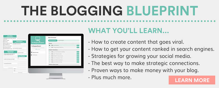 The blogging blueprint online course beautiful dawn designs for Blueprint online