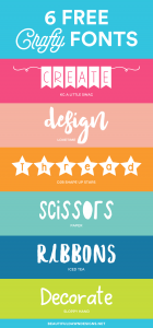 6 Free Crafty Fonts | Font Series #26