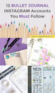 12 Bullet Journal Instagram Accounts You Must Follow