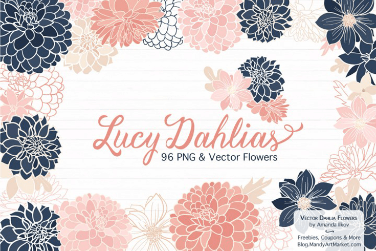 200+ Free Floral Graphics - Beautiful Dawn Designs