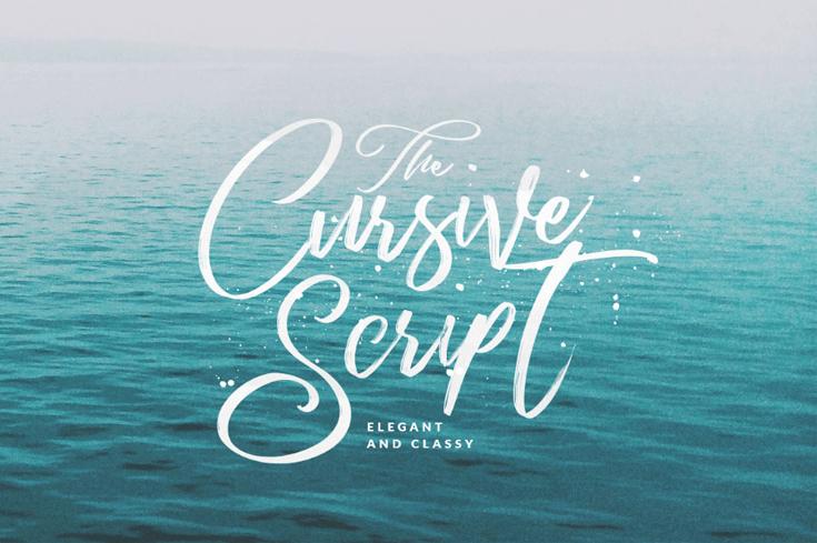 CURSIVE SCRIPT