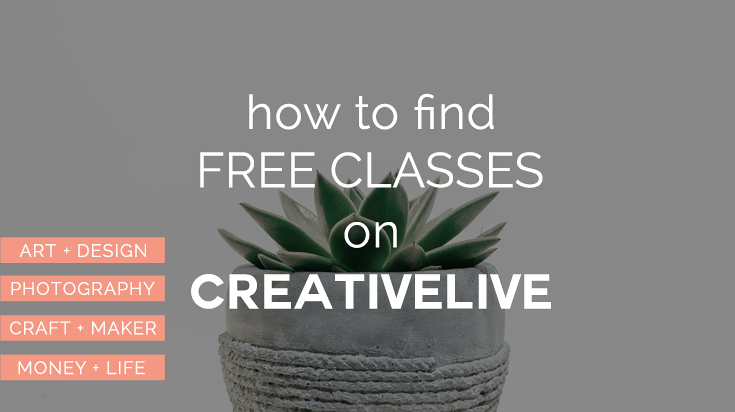 Free CreativeLive Classes