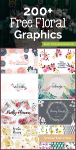 200+ Free Floral Graphics