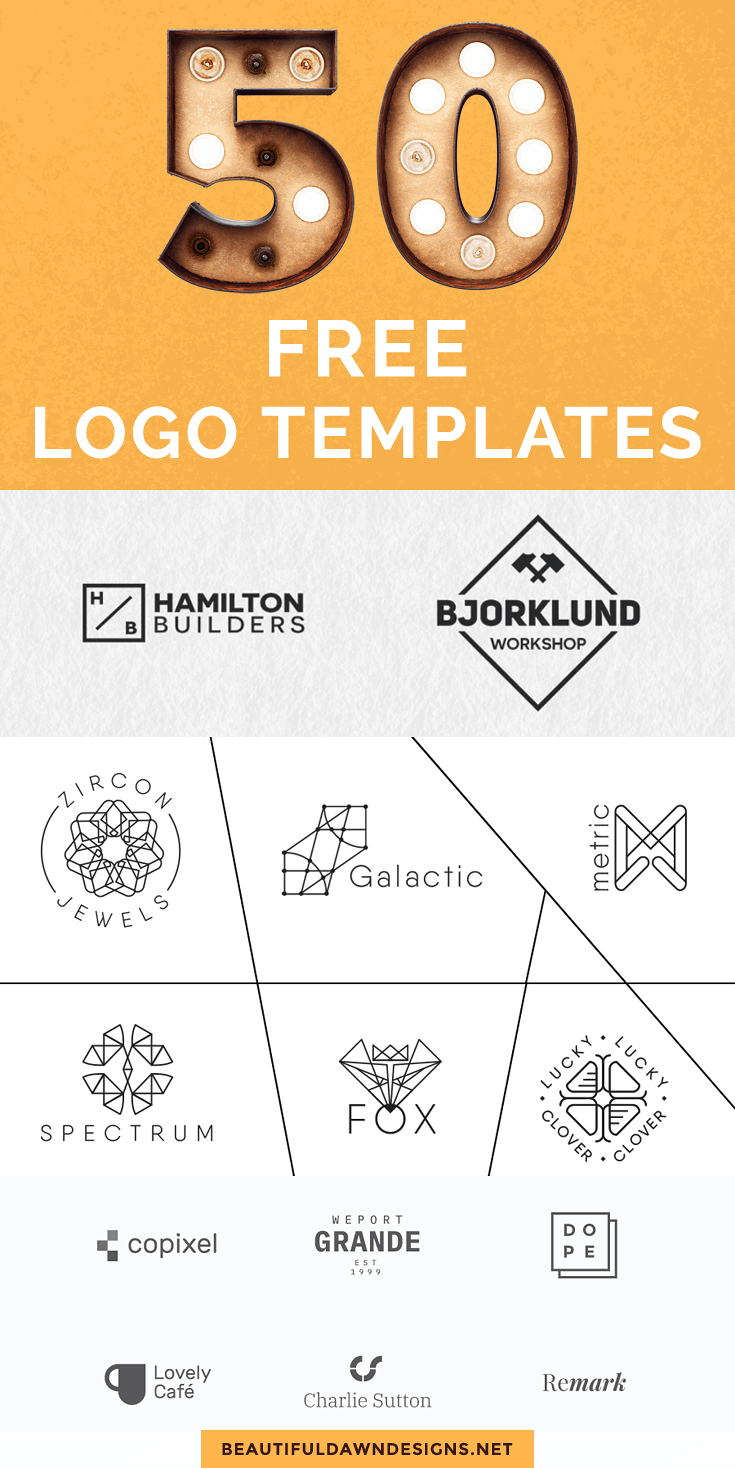 50 free logo templates for bloggers beautiful dawn designs grow here are over 50 free logo templates that you can download for free most of these logos can be used for your personal and commercial projects accmission Gallery