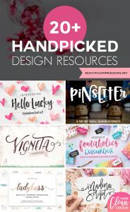20+ Handpicked Design Resources
