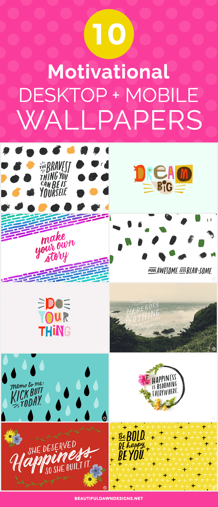 10 Free Motivational Desktop And Mobile Wallpapers