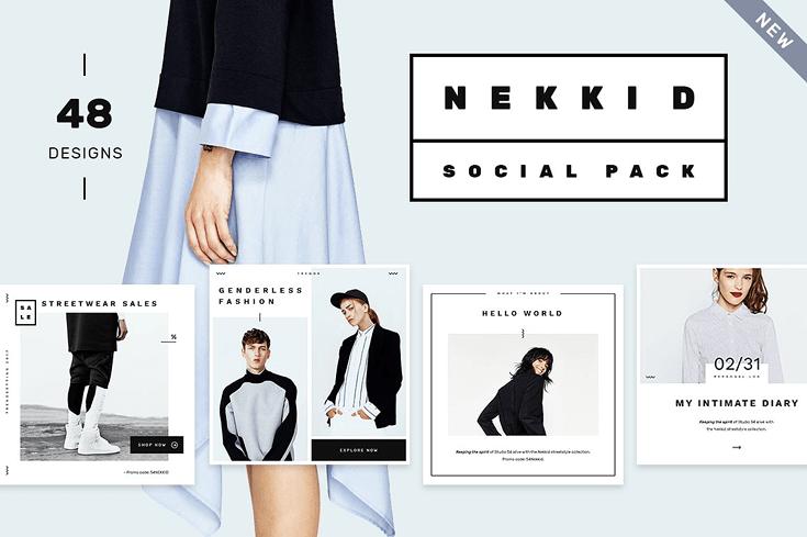 NEKKID | SOCIAL MEDIA BOOSTER PACK