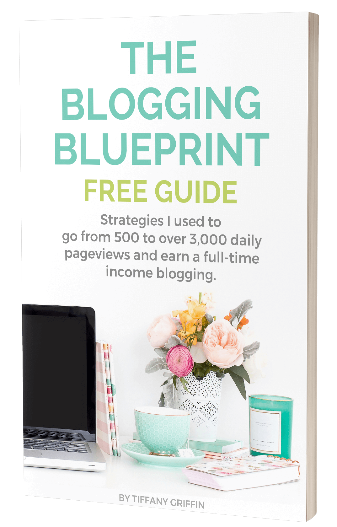 This free guide is a preview of my online blogging course, The Blogging Blueprint. In this guide, I share some of the tried-and-true strategies I've used to go from 500 to over 3,000 daily pageviews and earn a full-time income blogging. #bloggingtips