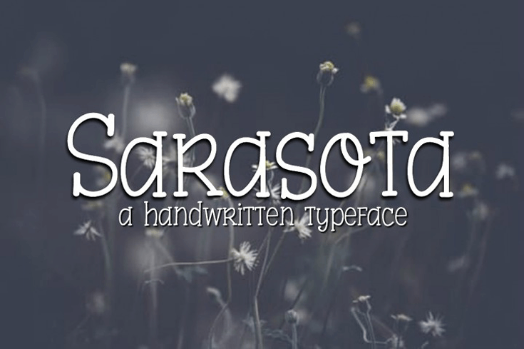 sarasota font