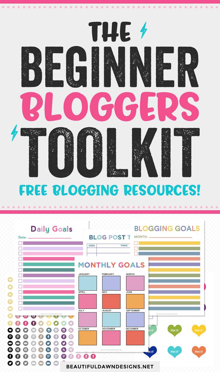 the beginner bloggers toolkit