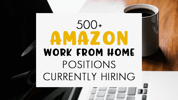 amazon work from home opportunities