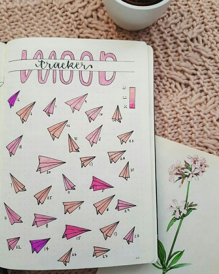 PAPER PLANES Mood tracker 7