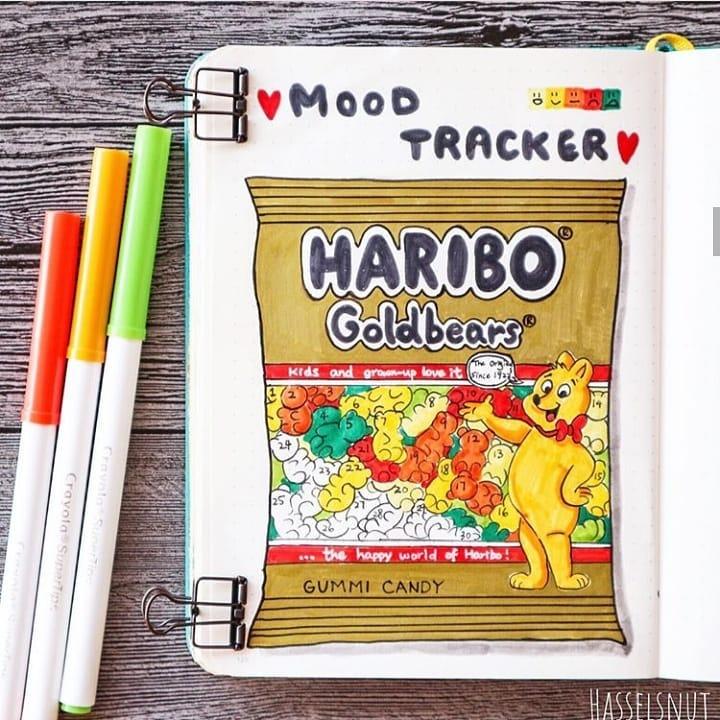 HARIBO GOLDBEARS Mood tracker 4