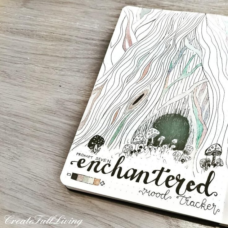 ENCHANTED FOREST Mood tracker 9