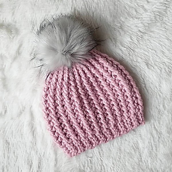 HILL COUNTRY BEANIE PINK