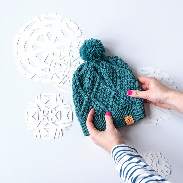 JANUARY HAT BLUE