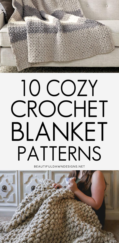 Cozy crochet blanket patterns