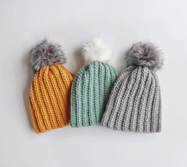 BEGINNER WINTER HATS