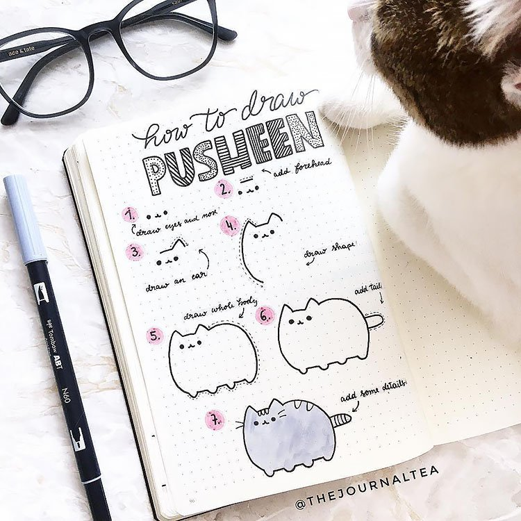 HOW TO DRAW PUSHEEN