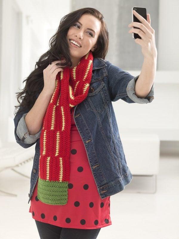 beginner friendly crochet scarf pattern