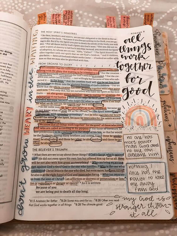 bible journal quote