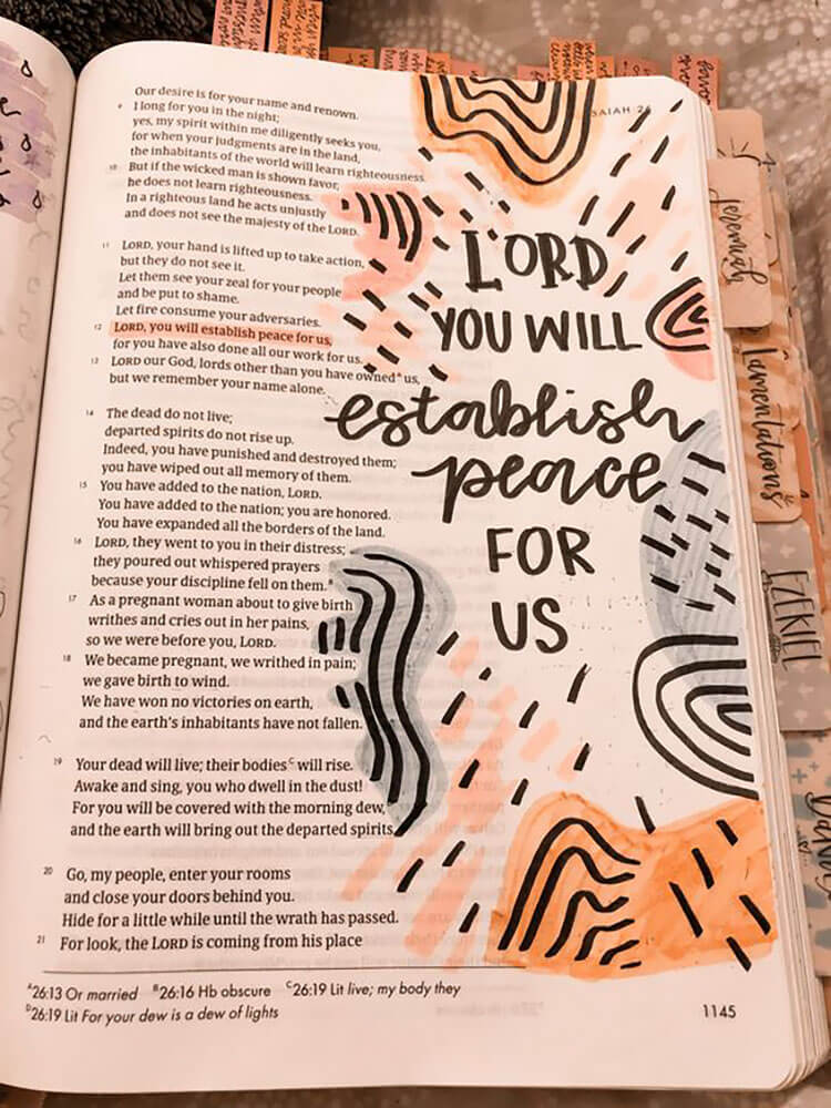 lord you will establish quote