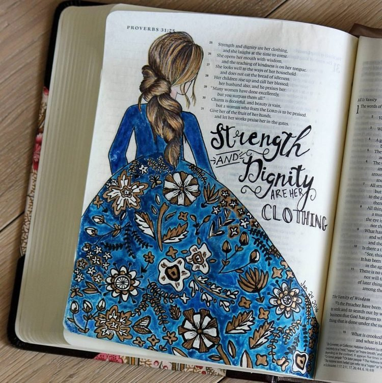 STRENGTH AND DIGNITY BIBLE JOURNAL