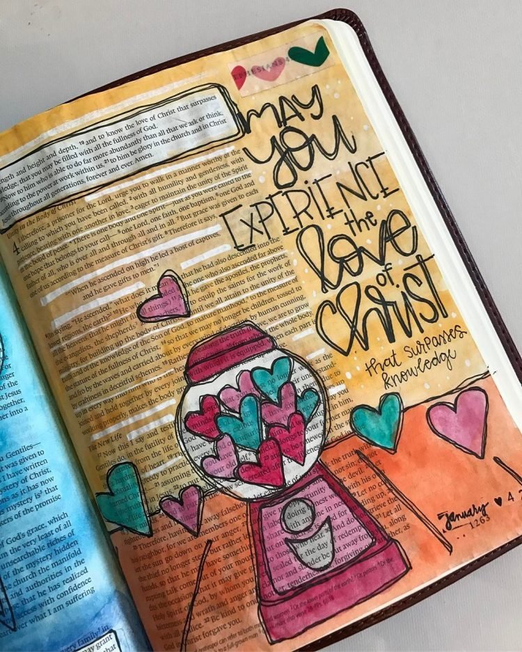 THE LOVE OF CHRIST BIBLE JOURNAL