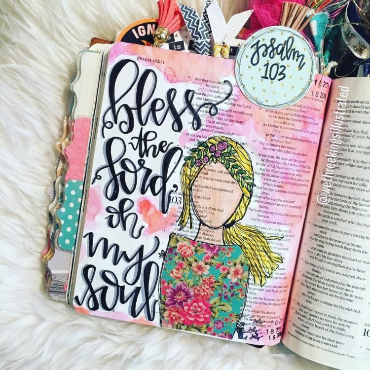 BLESS THE LORD OH MY SOUL BIBLE JOURNAL