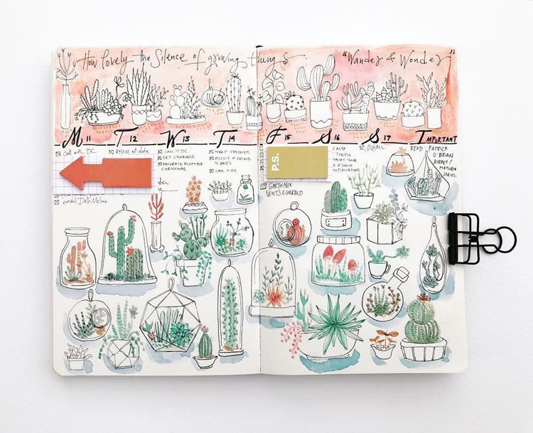 THE LOVELY SCIENCE OF GROWING THINGS PLANNER