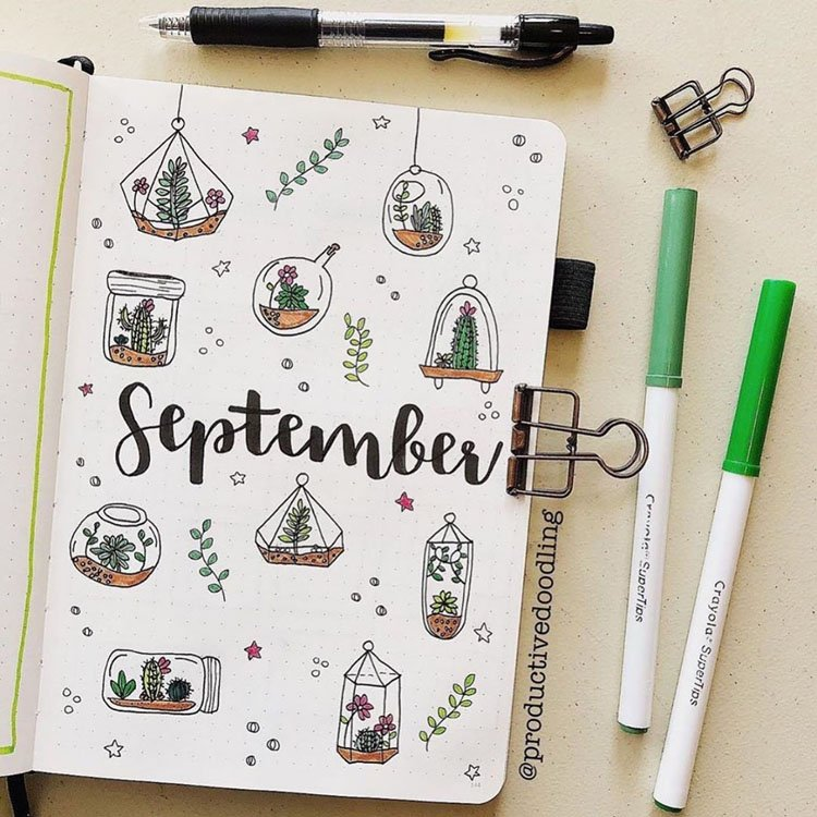 SEPTEMBER CACTUS AND SUCCULENT COVER