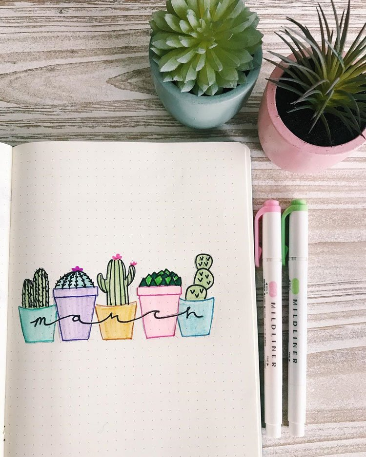 MARCH CACTUS AND SUCCULENT COVER