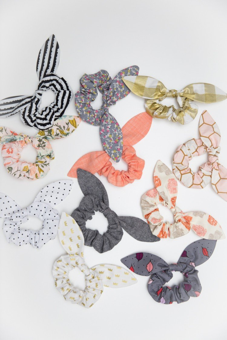 HOW TO MAKE A SCRUNCHIE WITH VIDEO TUTORIAL