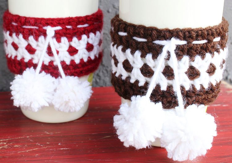 FESTIVE CUP COZIES