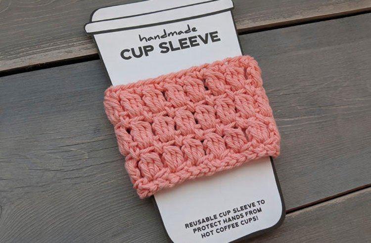 FREE COFFEE CUP COZY PATTERN