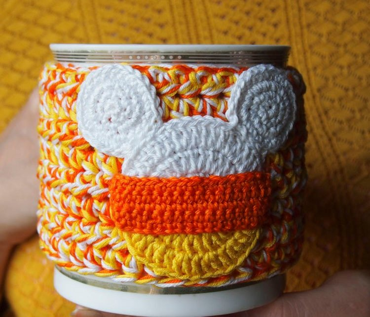 CUP COZY CANDY CORN