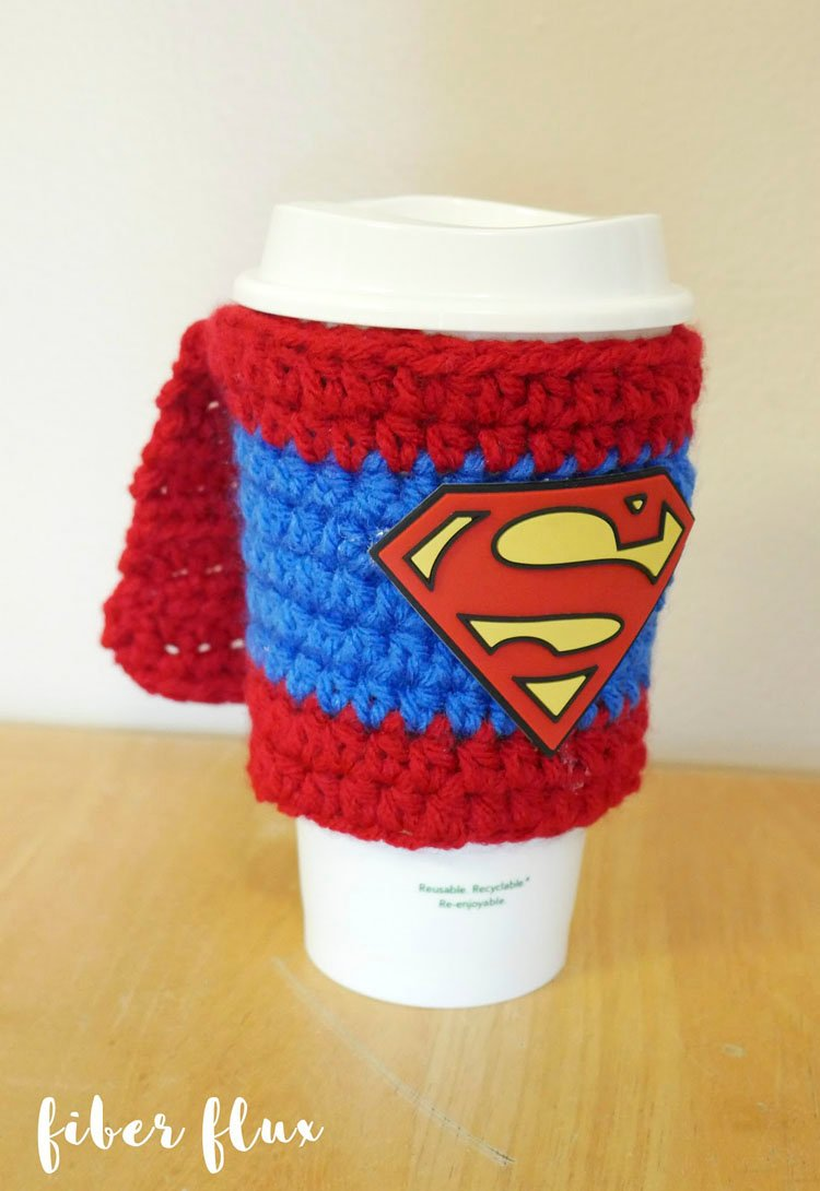 SUPERMOM/SUPERDAD COFFEE COZY