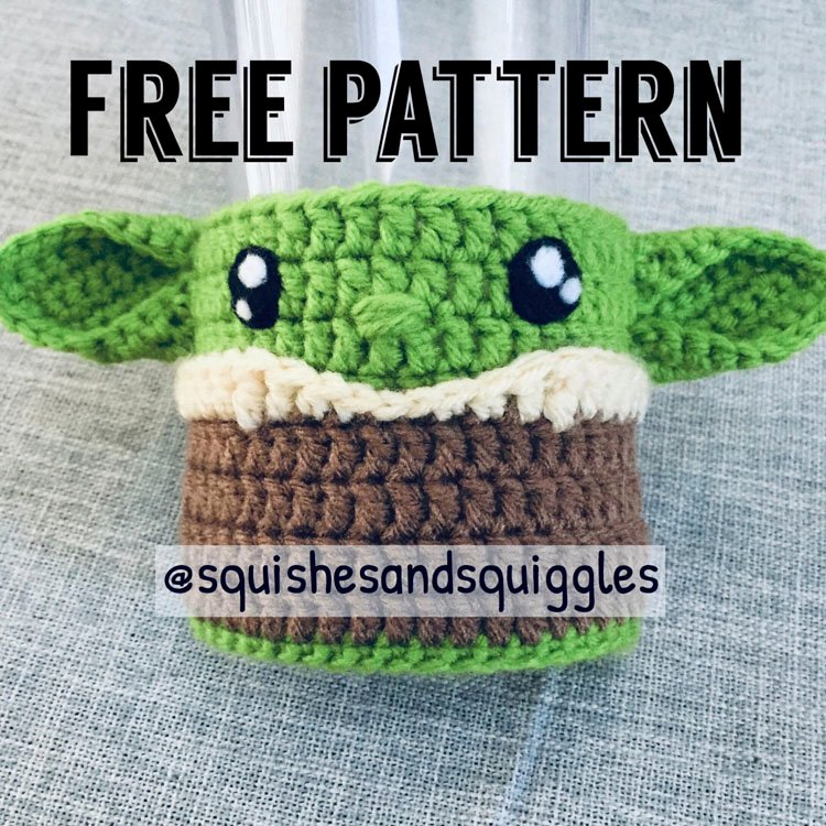 GREEN SPACE BABY CUP COZY