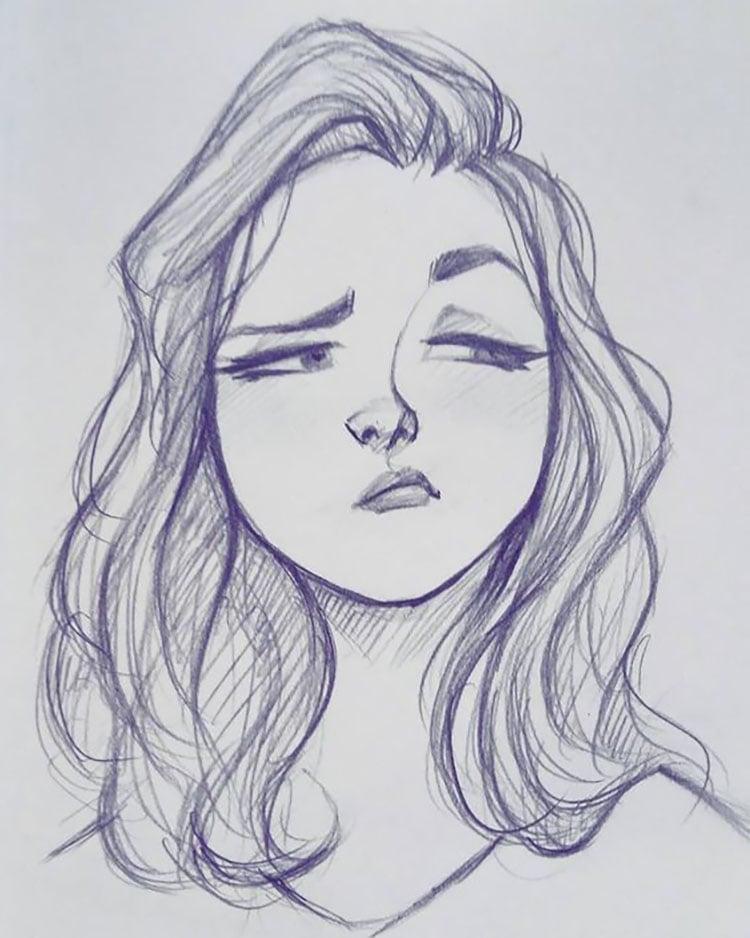 GIRL WITH SMUG FACE