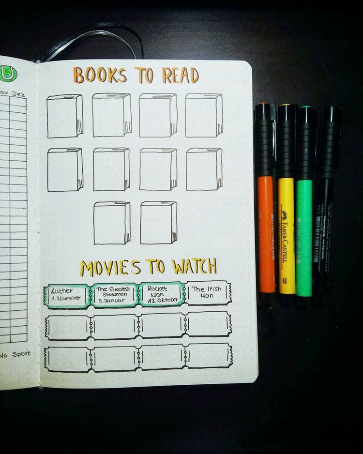 BOOKS AND MOVIES TRACKER